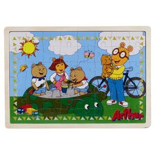 PBS Sandbox Wooden Puzzle