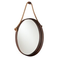 Bolivar Wall Mirror in Rich Rust