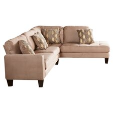 Miller Sectional Sofa in Beige