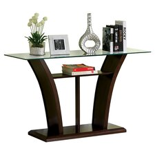 Elvira Console Table in Dark Cherry