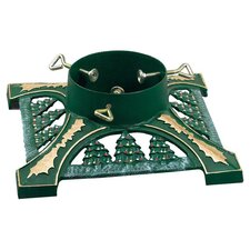 Lifetime Cast Iron Decorated Tree Stand in Green