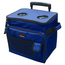 Trolley Bag Cooler in Blue