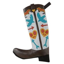 Jingle Bell Rock Born to Fly Boot Stocking