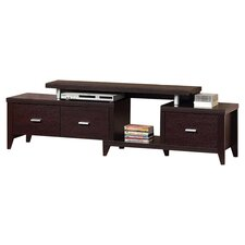 "Grandview 70"" TV Stand in Cappuccino"