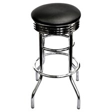 "29"" Swivel Work Stool in Chrome"