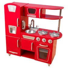 Vintage Kitchen in Red