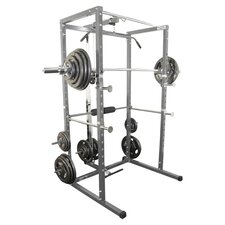 BD-7 Lat Pull Power Rack in Pewter