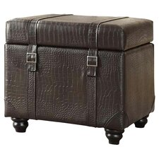Designs 4 Comfort Office Storage Ottoman in Brown