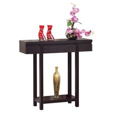 Logan Console Table in Red Cocoa