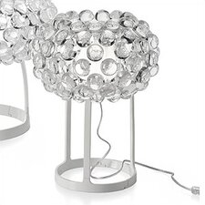 "Caboche 15"" H Table Lamp with Round Shade"