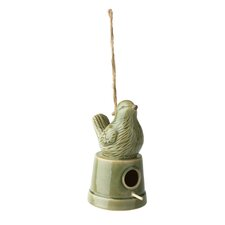 Ceramic Hanging Birdhouse
