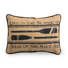 <strong>October Hill</strong> Nautical Oars Pillow