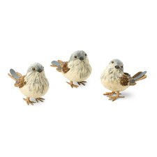 <strong>October Hill</strong> 3 Piece Bird Figurine Set