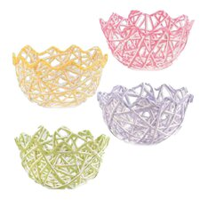Paper Raffia Egg Basket (Set of 12)