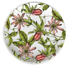 "Passion 4"" Melamine Wine Glass TidBit Topper Plate (Set of 4)"