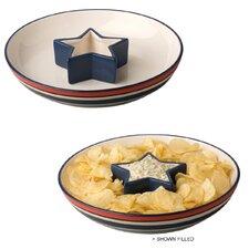 Patriotic Picnic Chip and Dip Set