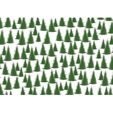 Conifers Large Paper Placemat (Set of 40)
