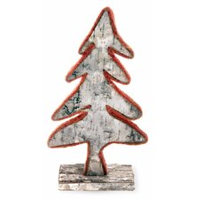 Large Home Accent Felt Edge Tree Figurine