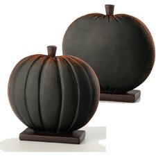 Mini Pumpkin Chalkboard Buffet Marker (Set of 4)