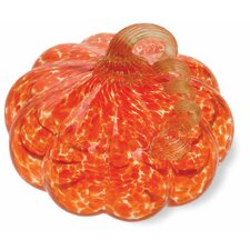 Glass Pumpkin Figurine