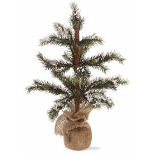 Snowy Spruce Tree Home Accent