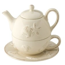 Seashell 2 Piece Tea Set
