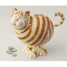 Bobble Cat Bank Figurine