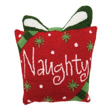 Naughty Hooked Pillow