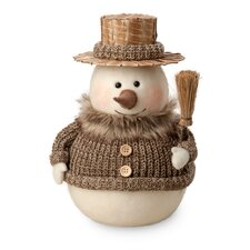 Ted Snowman Holiday Accent