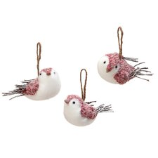 3 Piece The Wooly Bird Girls Holiday Accents Set