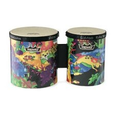 Kids Percussion Rain Forest Fabric Bongo