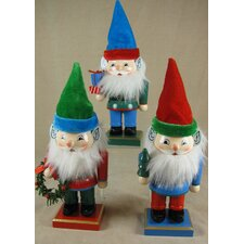 Gnome Nutcracker (Set of 3)