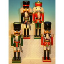 Soldier Nutcracker (Set of 4)