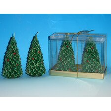 Medium Tree Candles (Box of 2)