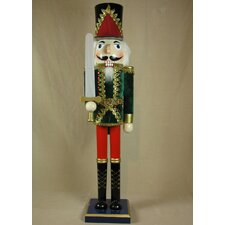 Velvet Jacket Soldier Nutcracker
