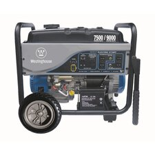 7,500 Watt Electric Start Portable Generator