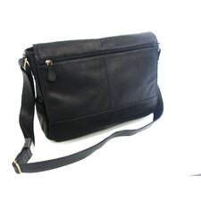 Front Full Flap Mail Bag with Pocket Zipper