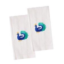Peacock Hand Towel