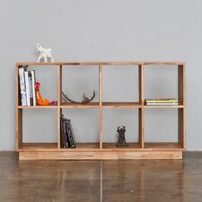 "LAX Series Two Shelf 32.5"" Bookcase"
