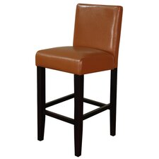 Villa Faux Leather Counter Stool (Set of 2)