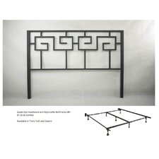 Greek Key Bed