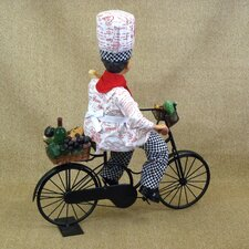<strong>Karen Didion Originals</strong> Classic Home Biking Chef Figurine