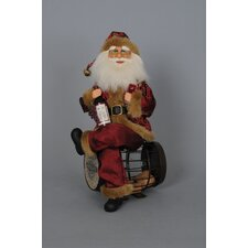 Crakewood Cork Barrel Santa