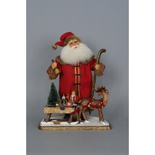 Limited Edition Signature Vintage Santa with Sled