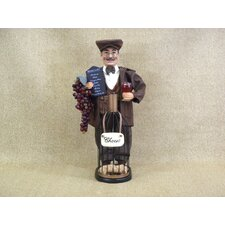 Classic Home Wine Bottle Cork Collector Figurine