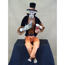 Spooktacular Halloween Skeleton Figurine