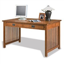 "<strong>Anthony Lauren</strong> Craftsman Home Office 58"" W Computer Library Desk"