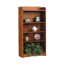 "62"" H Four Shelf Open Bookcase"