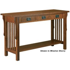 Craftsman Home Office Console Table