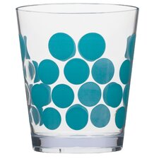 Dot Dot 14 oz. Double Old Fashioned Tumbler (Set of 6)